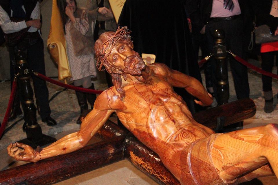Semana Santa Gandia Cristo Yacente