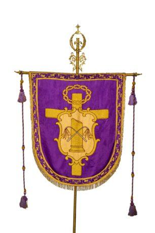 Cristo de la Flagelación - estandarte